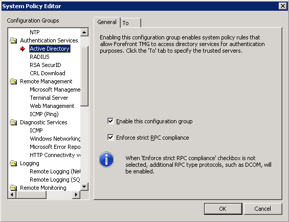 DPM, RPC, and DCOM with Forefront TMG 2010 – The SharePoint Interface