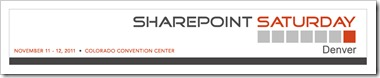 SharePoint Saturday Denver