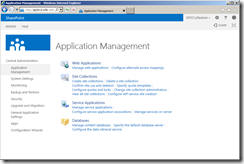SharePoint 2013 Central Administration Site