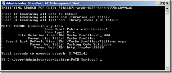 Finding a GUID in a SharePoint Haystack – The SharePoint