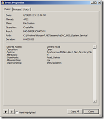 System.ServiceModel.Web Event