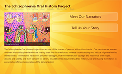 The Schizophrenia Oral History Project Online